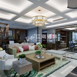 哈尔滨装修公司江南装饰华润中央公5效果图_3707984
