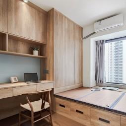 96平米日式风格—书房图片