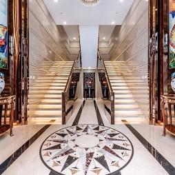 当代精英办公会所—楼梯图片
