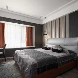 红与黑的世界,静谧中的热情—卧室图片