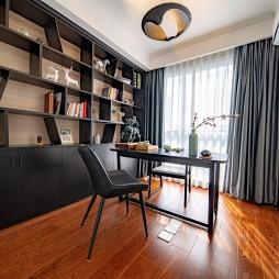 126平米現代簡約—書房設計圖