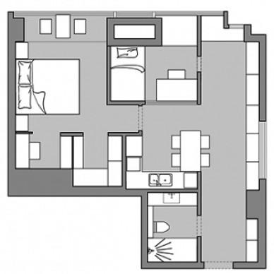 玩心重的設計師給50m2小家設計了間密室_3716602