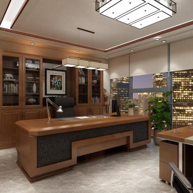 万达建筑公司办公室设计_3719855