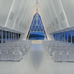 海濱白教堂——入口圖片