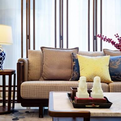 新中式別墅軟裝設計_3724002