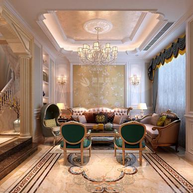 宝格丽小镇260平米别墅欧式风格装修设计_3728647