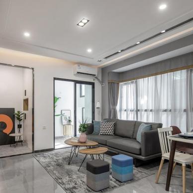 60㎡旧房改造,瞬间提高空间利用率_3734088