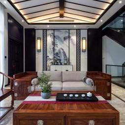 东棠设计-《正太悠然居》——客厅图片