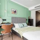 90 m² | 复古北欧——卧室图片