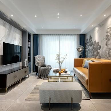 115平米美式经典——客厅图片