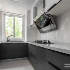 复式小楼,半色空间,现代简约百看不腻——厨房图片