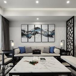 中式现代—苏所·致渺——客厅图片