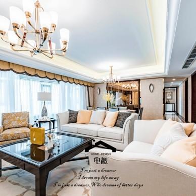 188平米美式经典——客厅图片
