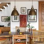 潮范儿旅行达人的家全是老物件和木工手作——餐厅图片