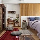 潮范儿旅行达人的家全是老物件和木工手作——卧室图片