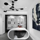 500㎡現代風格——書房圖片