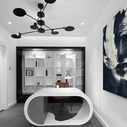 500㎡现代风格——书房图片