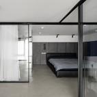 复式—电视隐身、楼梯悬浮——卧室图片