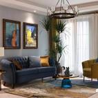 """減負后的別墅,才是""""家""""該有的輕松——地下室會客廳圖片"""