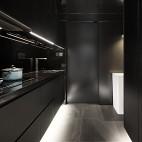 單身男設計師的Loft公寓——廚房圖片