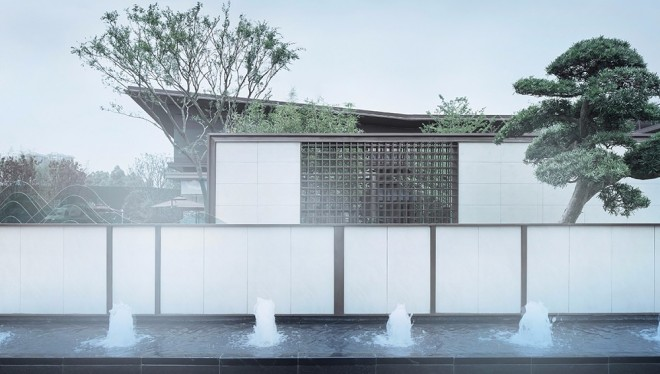 柳州彰泰江与城售楼处设计