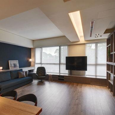 《极致灰-汽车设计师的家》——客厅图片