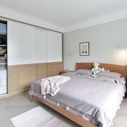 150平米北欧极简—卧室图片