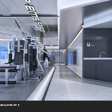 REVUP SPACE 连锁健身空间设计_3785594