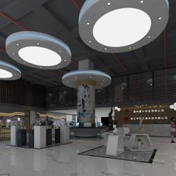 温州科技园某品牌设计公司展厅_3787867
