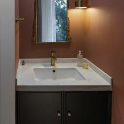 晨丨时尚,随性是她家的味道——卫生间图片