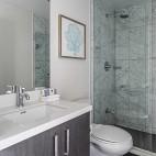 92㎡精致两居室大落地窗的轻奢体验——卫生间图片