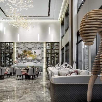 宝龙·泰州售楼处- 木梵设计/《雅·韵》
