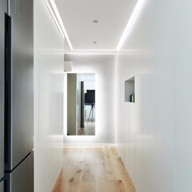 厨房变卧室,变一个绅士品格的家_3804755