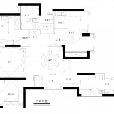 简约中透着轻奢质感,融合中式元素的家!_3811774