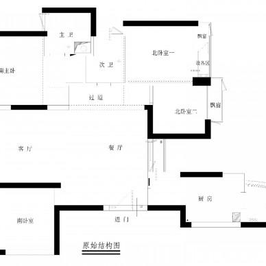 简约中透着轻奢质感,融合中式元素的家!_3811806