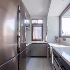 180平中式居所,古朴大气淡雅自然——厨房图片