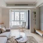94平米现代简约——客厅图片