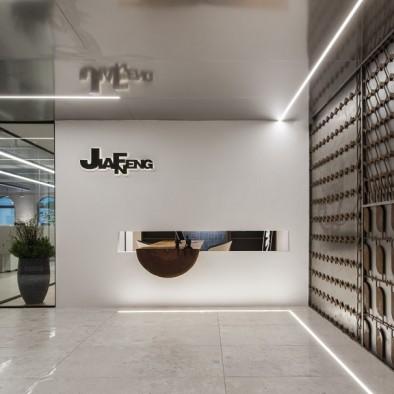 """现代与工业结合的""""可视化""""办公空间设计"""