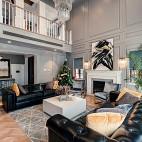 400平米美式经典——客厅图片