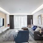 纯净苍穹,简而纯粹の家——客厅图片