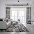 142平米现代简约客厅设计图