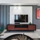 color block,我的现代简约乐园——电视背景图