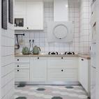 80平粉色时空——厨房图片