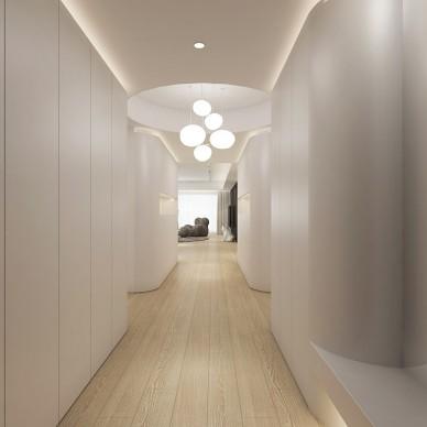 用白色玩出时尚感 / 住宅空间_3855062
