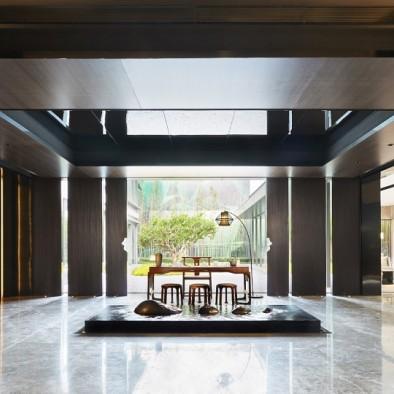 上海融创领馆一号院|空间内外的艺术共融