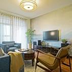 小户型中式——客厅图片