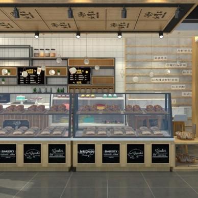 淄博蛋糕烘焙面包甜品店设计装修烘焙蛋糕店_3862292