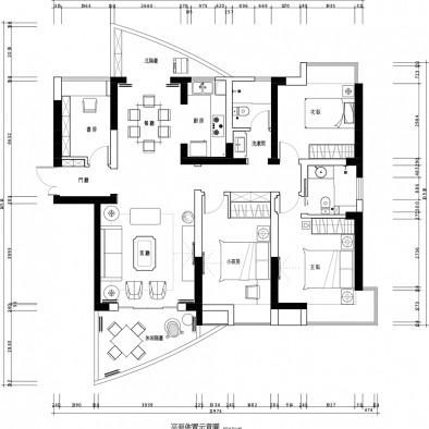 吉安市万安县高端装修设计住宅别墅栋房大宅
