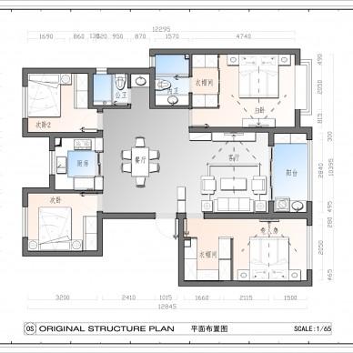 枫香花园杨总府邸126平装修案例_3875099