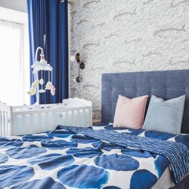 87㎡小兩室,北歐風營造的時尚精致小家_3878042
